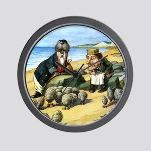 The Carpenter and the Walrus Wall Clock