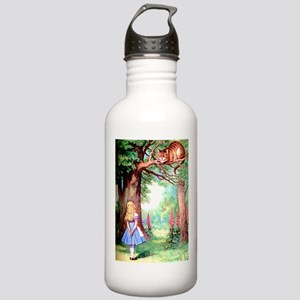 Alice & The Cheshire C Stainless Water Bottle 1.0L