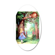 Alice & The Cheshire Cat Wall Decal