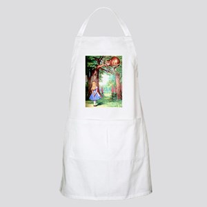 Alice & The Cheshire Cat Apron