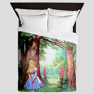 Alice & The Cheshire Cat Queen Duvet