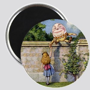 Alice and Humpty Dumpty Magnet