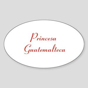 Princesa Guatemalteca Sticker