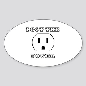 I Got The Power Sticker