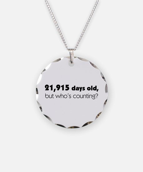 60th Birthday Necklace