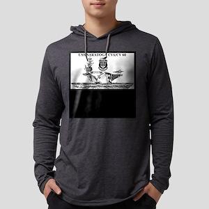 USS Saratoga Mens Hooded Shirt