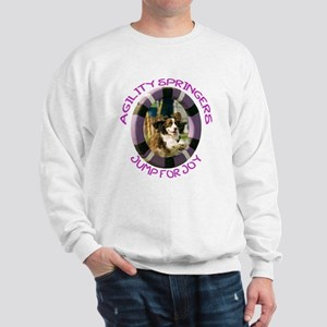 Agility Jump for Joy w/URL Sweatshirt