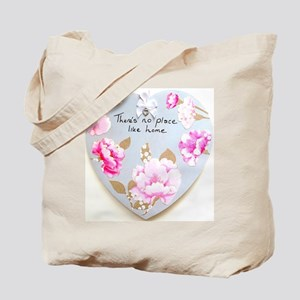 There's No Place Like Home Heart Tote Bag