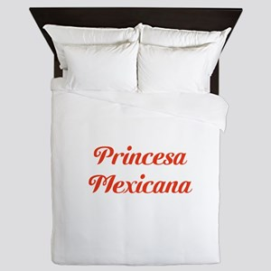 Princesa Mexicana Queen Duvet