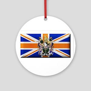 British Rhodesian Flag Ornament (Round)