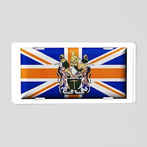 British Rhodesian Flag Aluminum License Plate