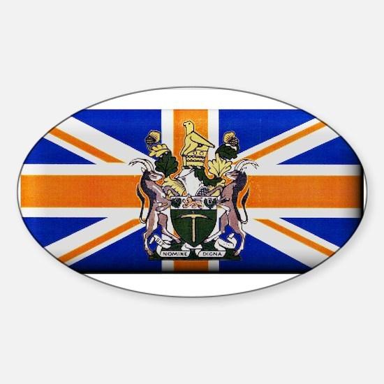 British Rhodesian Flag Decal