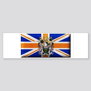 British Rhodesian Flag Bumper Sticker