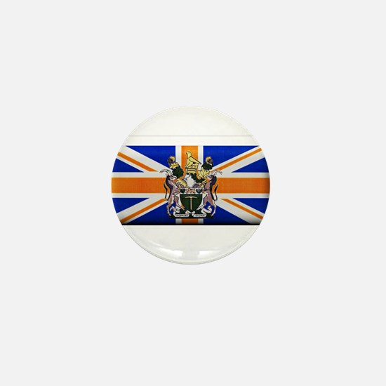 British Rhodesian Flag Mini Button