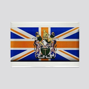 British Rhodesian Flag Rectangle Magnet