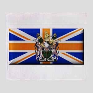 British Rhodesian Flag Throw Blanket