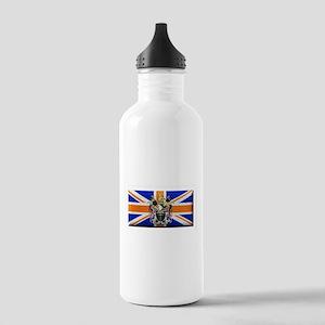 British Rhodesian Flag Water Bottle