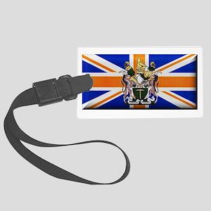 British Rhodesian Flag Luggage Tag