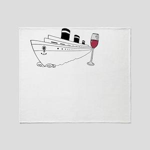 Cruise + Wine Throw Blanket