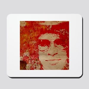 Slash in abstract Mousepad