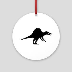Dinosaur spinosaurus Ornament (Round)