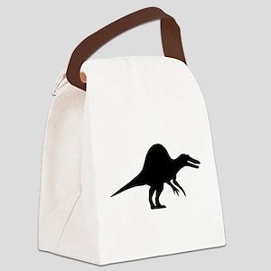 Dinosaur spinosaurus Canvas Lunch Bag