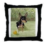 StephanieAM Chihuahua Throw Pillow