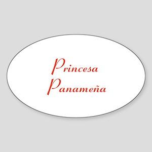Princesa Panameña Sticker