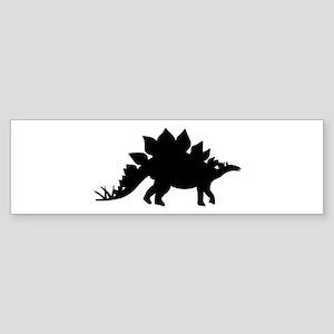 Dinosaur Stegosaurus Sticker (Bumper)