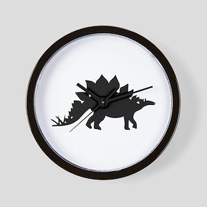 Dinosaur Stegosaurus Wall Clock
