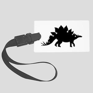 Dinosaur Stegosaurus Large Luggage Tag