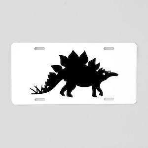 Dinosaur Stegosaurus Aluminum License Plate