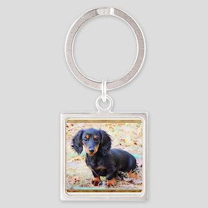 Puppy Love Doxie Keychains
