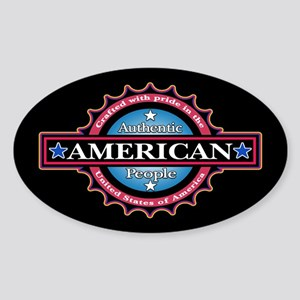 Authentic... Sticker (Oval)
