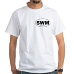 SWM - Single White Male White T-Shirt