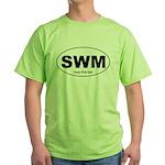SWM - Single White Male Green T-Shirt