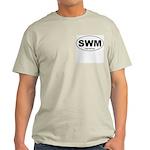 SWM - Single White Male Ash Grey T-Shirt