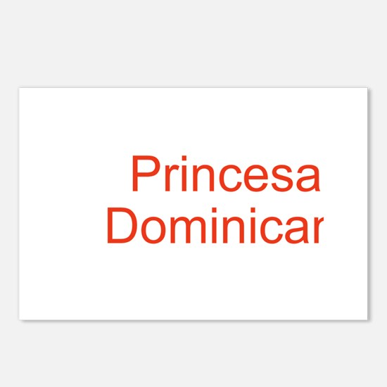 Princesa Dominicana Postcards (Package of 8)