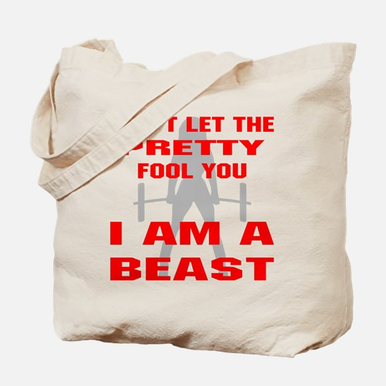 Female I Am A Beast Tote Bag