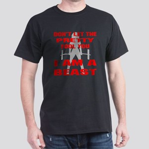 Female I Am A Beast Dark T-Shirt