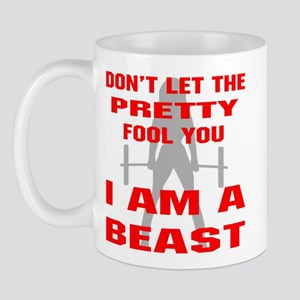 Female I Am A Beast Mug