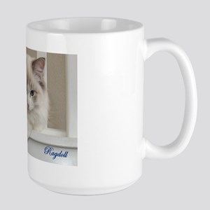 Large Mug  Seal Lynx Ragdoll Kitten