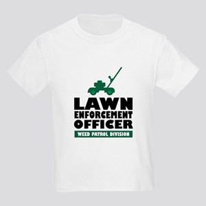 Lawn Enforcement Kids Light T-Shirt