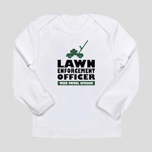 Lawn Enforcement Long Sleeve Infant T-Shirt