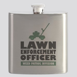 Lawn Enforcement Flask