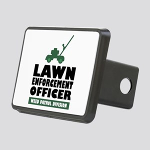 Lawn Enforcement Rectangular Hitch Cover