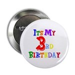 3rd Birthday Button