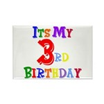 3rd Birthday Rectangle Magnet (10 pack)