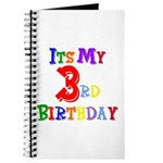 3rd Birthday Journal