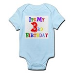 3rd Birthday Infant Bodysuit